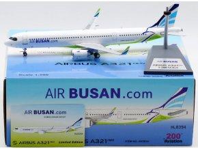 Aviation 200 - Airbus A321neo, dopravce Air Busan HL8394, Jižní Korea, 1/200