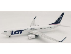 J Fox Models - Boeing B737-89P, dopravce LOT Polish Airlines SP-LWA, Polsko, 1/200
