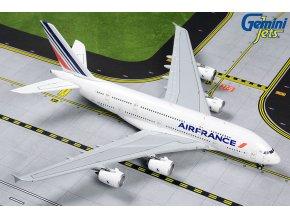 "Gemini - Airbus A380-861, společnost Air France, ""2010s"" Colors, F-HPJC, Francie, 1/400"