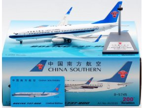Aviation 200 - Boeing B737-800, dopravce China Southern Airlines B-5745, Čína, 1/200