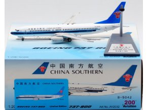 Aviation 200 - Boeing B737-800, dopravce China Southern Airlines B-5042, Čína, 1/200