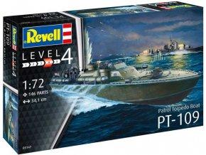 Revell - Patrol Torpedo Boat PT-109, ModelSet 65147, 1/72
