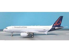 WB Models - Airbus A320-214, společnost Brussels Airlines OO-SNJ, Belgie, 1/200
