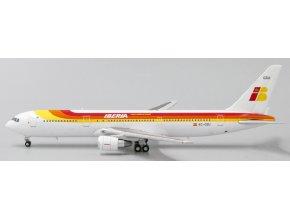 JC Wings - Boeing B 767-200ER, dopravce Iberia EC-GSU, Španělsko, 1/400