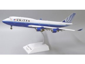 "JC Wings - Boeing B747-400, dopravce United Airlines ""U.S. Olympic Team"" Flap Down N199UA, USA, 1/200"