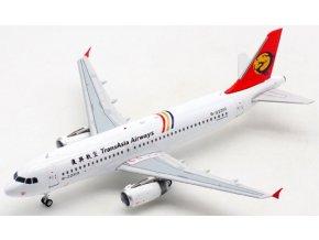 Albatros Models - Airbus A320-200, společnost TransAsia Airways B-22310, Taiwan, 1/200