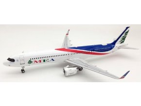 Inflight 200 - Airbus A321neo, dopravce MEA, Middle East Airlines T7-ME1, Libanon, 1/200