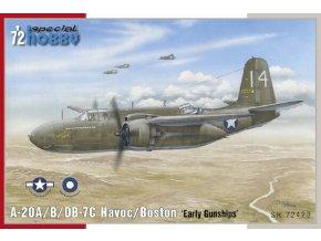 "Special Hobby - Douglas A20A/B/DB7C Havoc/Boston 'Early gunships"", Model Kit SH72423, 1/72"