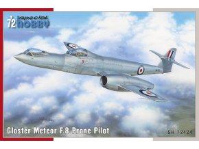 Special Hobby - Gloster Meteor F8 Prone Pilot, Model Kit SH72424, 1/72