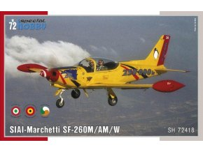 Special Hobby - SIAI-Marchetti SF-260M/AM/W, Model Kit SH72418, 1/72