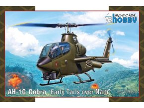 "Special Hobby - AH1G Cobra 'Early tails over 'Nam"", Model Kit SH72427, 1/72"
