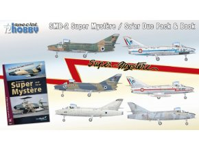 Special Hobby - Super Mystere Duo Pack & Book, Model Kit SH72417, 1/72