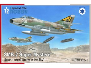 Special Hobby - SMB-2 Super Mystère 'Sa'ar - Israeli Storm in the Sky', Model Kit SH72345, 1/72