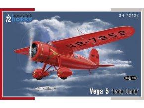 "Special Hobby - Lockheed Vega 5 ""Lady lindy"", Model Kit SH72422, 1/72"