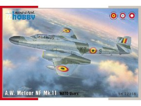 """Special Hobby - Armstrong Withworth Meteor NF Mk.11 """"NATO Users"""", Model Kit SH72358, 1/72"""
