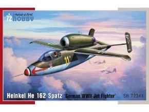 "Special Hobby - Heinkel He162 Spatz 'German WWII Jet fighter"", Model Kit SH72341, 1/72"