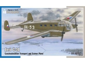 Special Hobby - Aero C-3A 'Czechoslovakian Transport and Trainer Plane', Model Kit SH48197, 1/48