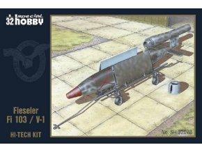 Special Hobby - Fieseler Fi103(FZG76) V1 Flying Bomb HI-TECH, Model Kit sh32078, 1/32
