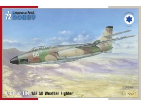 "Special Hobby - Vautour IIN ""IDF All Weather Fighter"", Model Kit SH72410, 1/72"