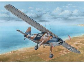 Special Hobby - Dornier Do27 (Israeli, SAAF, and PortugeseService), Model Kit SH72392, 1/72