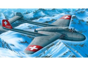 Special Hobby - De Havilland DH100 Vampire Mk1, Model Kit SH72339, 1/72
