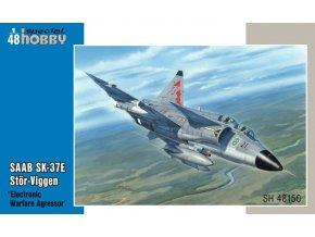 Special Hobby - SAAB SK37E Stor-Viggen, Model Kit SH48150, 1/48