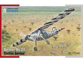 """Special Hobby - Dornier Do27 """"Civilian Service"""", Model Kit SH72349, 1/72"""