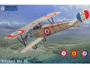 "Special Hobby - Nieuport 10 ""Two Seater""Incl. Belgian Markings"", Model Kit sh48184, 1/48"