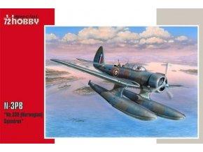 "Special Hobby - Northrop N-3PB 'No330 (Nowegian) Squadron RAF"", Model Kit sh72250, 1/72"