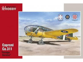 "Special Hobby - Caproni CA311""Foreign Service"", Model Kit SH72313, 1/72"