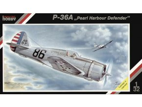 """Special Hobby - Curtiss P36A Hawk """"Pearl Harbour Defender"""", Model Kit sh32003, 1/32"""