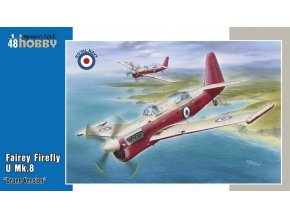 "Special Hobby - Fairey Firefly U MK8 ""Drone Version"", Model Kit SH48166, 1/48"