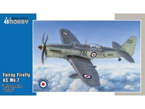 "Special Hobby - Fairey Firefly AS MK7 ""Anti Submarine"", Model Kit SH48130, 1/48"