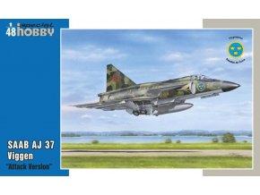 Special Hobby - Saab AJ37 Viggen, Model Kit SH48148, 1/48