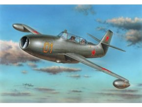 "Special Hobby - Yakovlev Yak-23UTI Flora ""Twoseater"", Model Kit SH72245, 1/72"