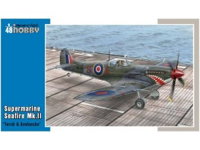 "Special Hobby - Seafire Mk.III ""Torch and Avalanche"", Model Kit SH48102, 1/48"