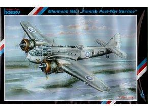 """Special Hobby - Bristol Blenheim Mk.I """"Finnish Post War Service"""", Model Kit SH72202, 1/72"""