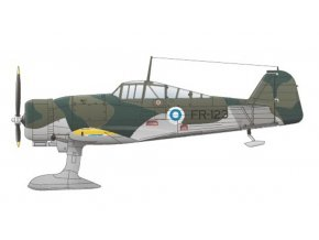 "Special Hobby - Fokker DXXI 4. Sarja Finnish AF ""Post War Service"", Belgian and Irish Service', Model Kit SH72189, 1/72"