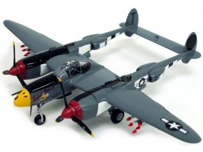 "Witty - Lockheed P-38J Lightning, USAAF, 370th FG, ""Vivacious Virgin II"", Ian Macke, 1/72"