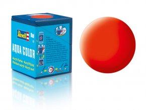 Revell - Barva akrylová 18 ml - č. 25 matná světle oranžová (luminous orange mat), 36125