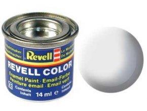 Revell - Barva emailová 14ml - č. 76 matná světle šedá (light grey mat USAF), 32176