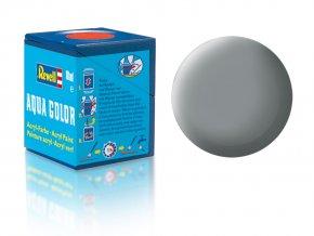 Revell - Barva akrylová 18 ml - č. 43 matná šedá (grey mat USAF w.), 36143