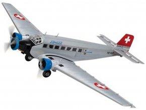 Corgi - Junkers Ju52/3m, JU-AIR, HB-HOP, Švýcarsko, 1/72