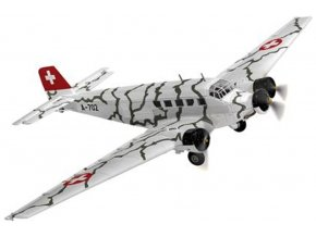 Corgi - Junkers Ju52/3m, Tarnmuster, A-702, Švýcarsko, 1/72