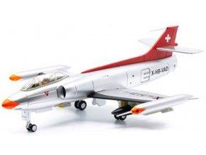 Swiss Line Collection - FFA P-16, švýcarské letectvo, X-HB-VAD, Švýcarsko, 1/72