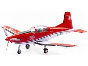 Swiss Line Collection - Pilatus PC-7 Turbo Trainer, švýcarské letectvo, PC-7 Team, 30. let výročí, Payerne, Švýcarsko, 1/72