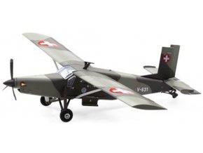 Swiss Line Collection -  Pilatus PC-6 Turboporter, švýcarské letectvo, V-631, Švýcarsko, 1/72