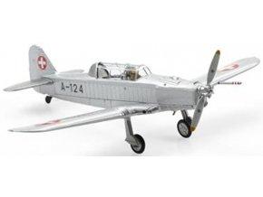 Swiss Line Collection - Pilatus P-2-05, švýcarské letectvo, A-124, 1963, Švýcarsko, 1/72