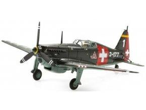 Swiss Line Collection - FAA D-3801, švýcarské letectvo, J-177, 1944, Švýcarsko, 1/72