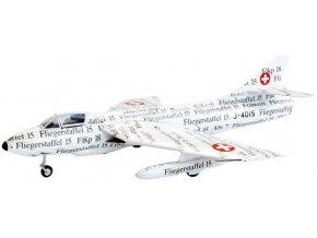 """Swiss Line Collection - Hawker Hunter F.Mk.58, švýcarské letectvo, """"Papyrus"""", J-4015, 1/72"""
